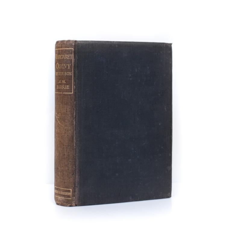 Barrie, J.M. Margaret Ogilvy 1st Ed 1896