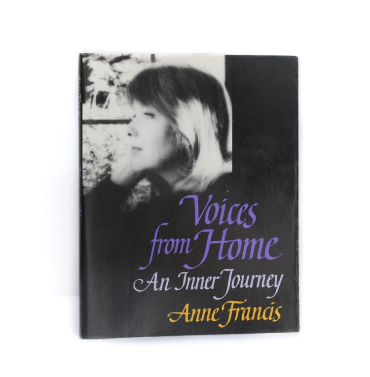 Francis, Anne Voices from Home 1st Ed Signed w DJ