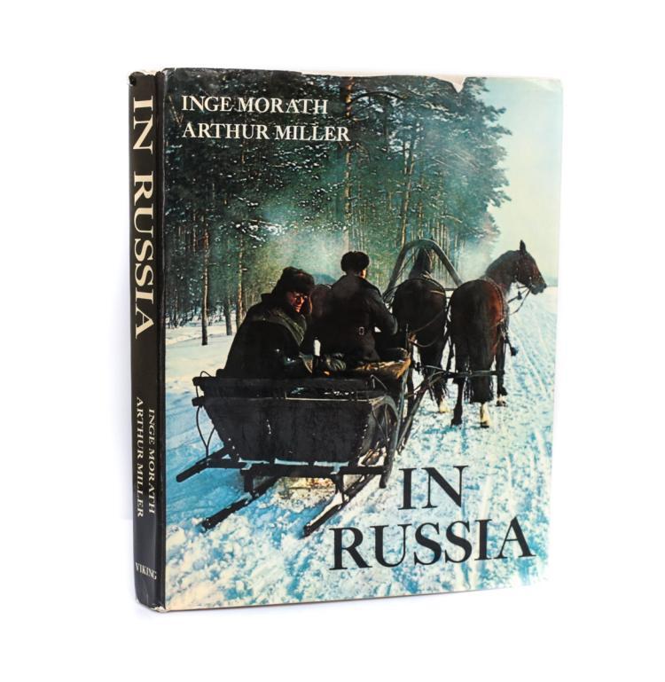 Morath, Inge; Miler, Arthur In Russia 1st Ed Signed  DJ
