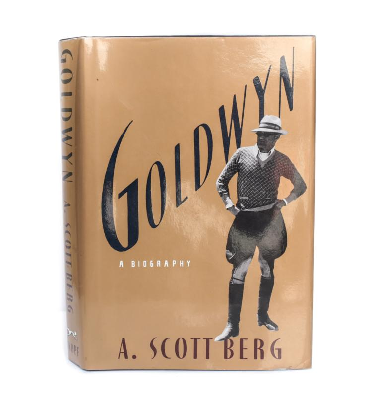 Berg, A. Scott Goldwyn 1st Ed Signed w/ DJ