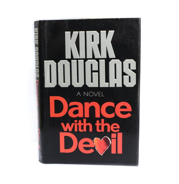 Douglas, Kirk Dance w the Devil 1st Ed Signed w DJ