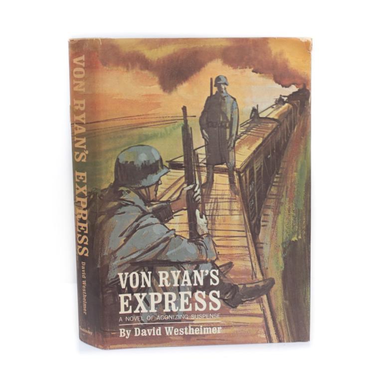 Westheimer, David Von Ryan's Express 1st Ed w DJ 1964