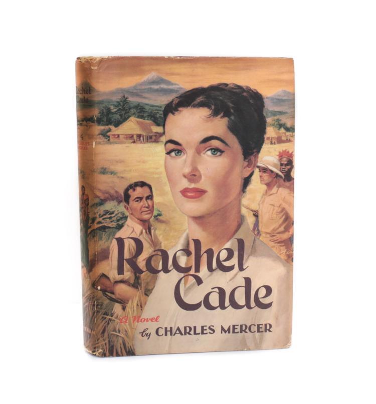 Mercer, Charles Rachel Cade 1st Ed w DJ 1956
