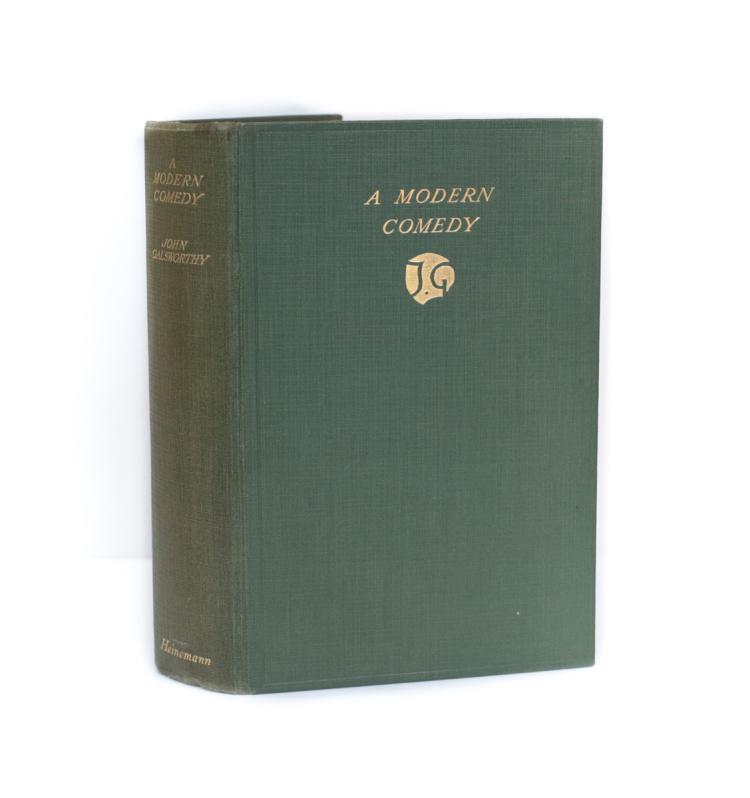 Galsworthy, John A Modern Comedy 1st Ed 1929