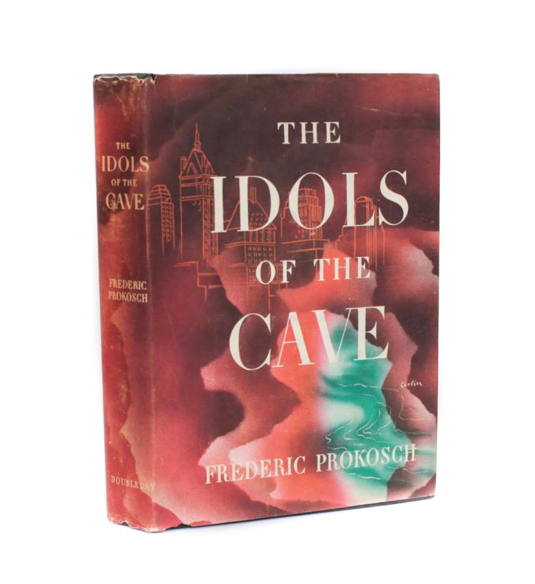 Prokosche, Frederic The Idols of the Cave 1st Ed w DJ