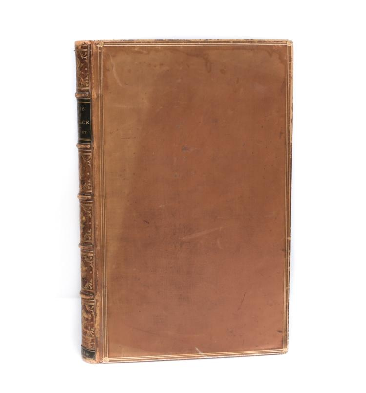Stanley, EJ Metrical Version of Odes to Horace 1st Ed