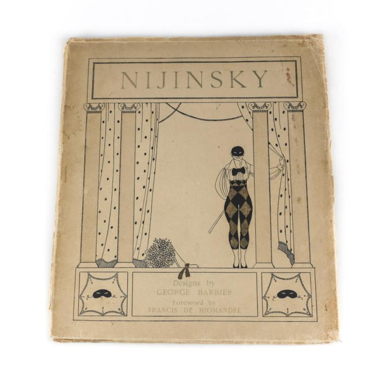 Barbier, George, Designs on Dances of Nijinsy Ltd Ed