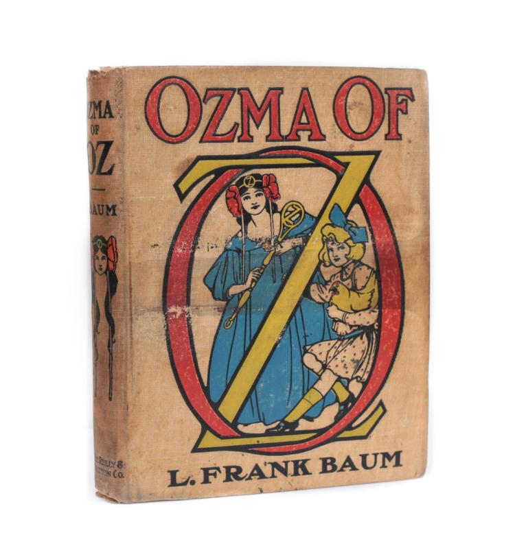 Baum, L. Frank Ozma of Oz 1st Ed 1st State 1907