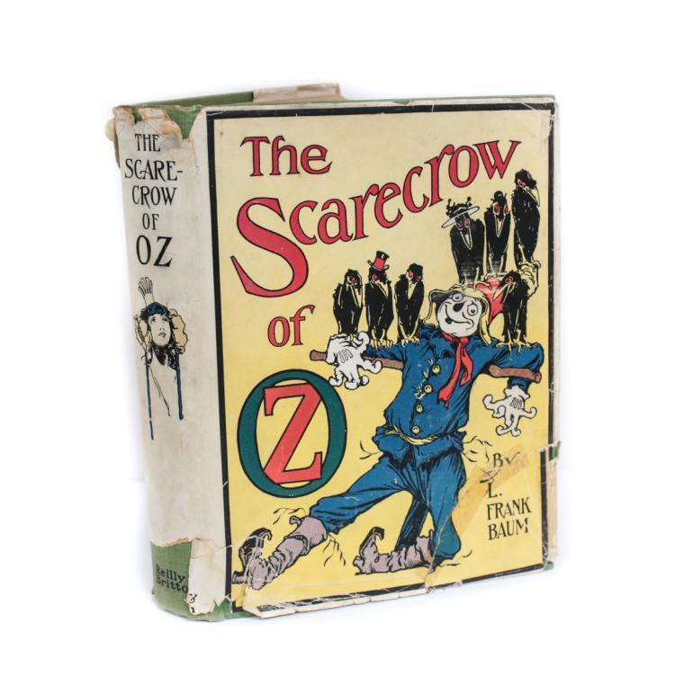 Baum, L Frank The Scarecrow of Oz 1st Edition, w DJ 1915