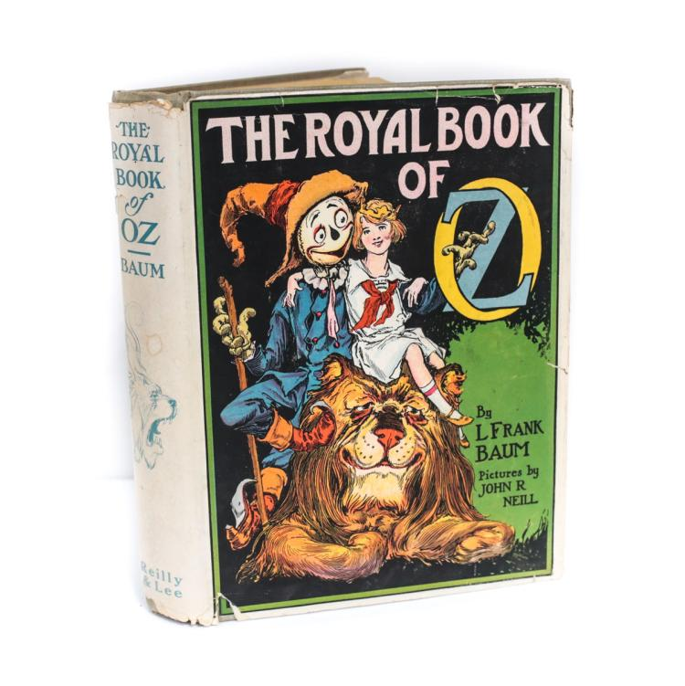 Baum, L Frank, The Royal Book of Oz 1st Ed w DJ