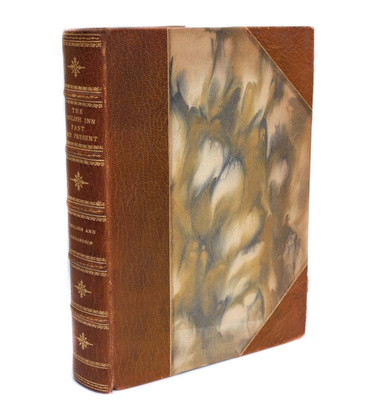 Eberlein, Harold The English Inn Past & Present 1st Ed