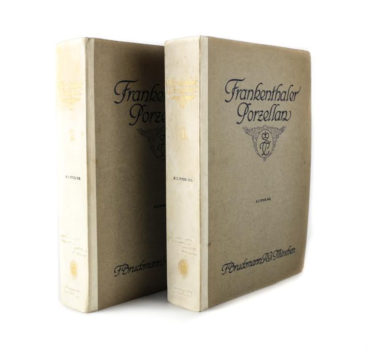 Hofmann, Friedrich H Frankenthaler Prozellen Vol 1 & 2