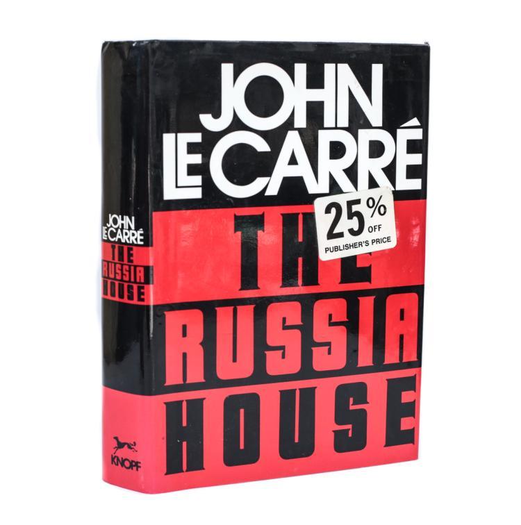 Le Carre, John The Russia House 1st Ed w DJ