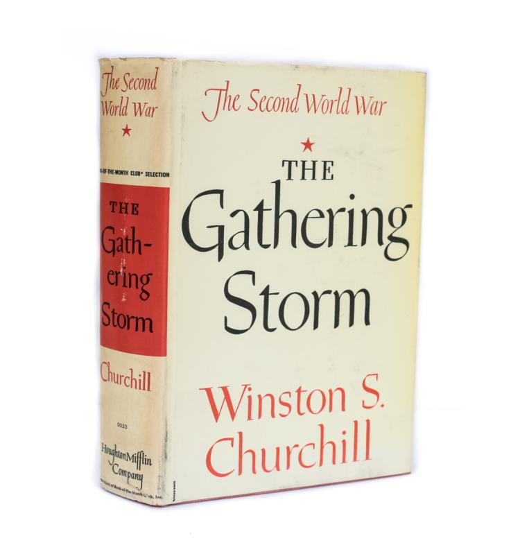 Churchill, Winston The Gathering Storm 1948 w DJ