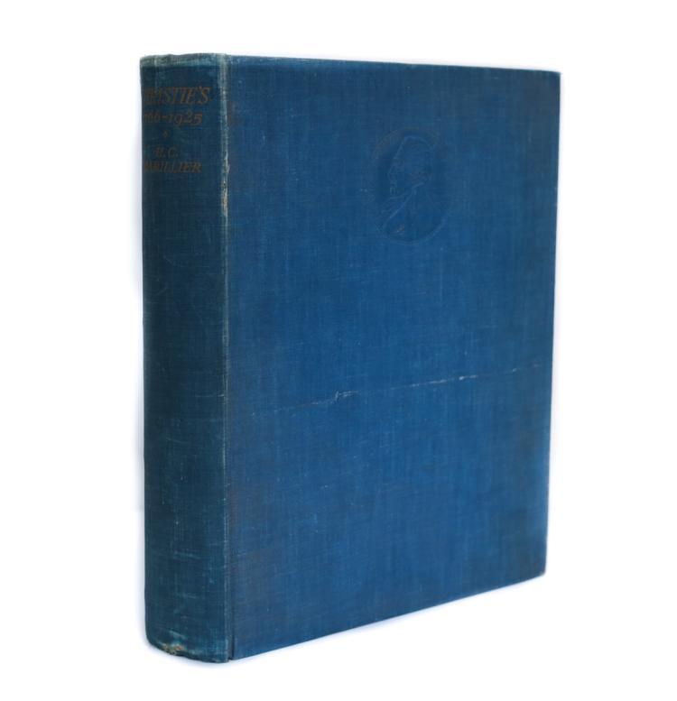 Marillier, H.C. Christie's 1766 - 1925 Houghton