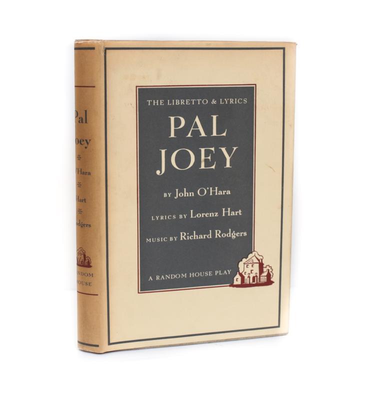 O'Hara, John Pal Joy 1st Ed w DJ 1952