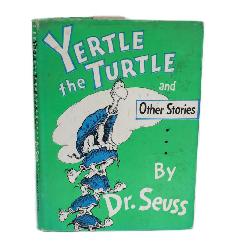 Dr. Seuss Yertle the Turtle 1st Ed Signed w DJ