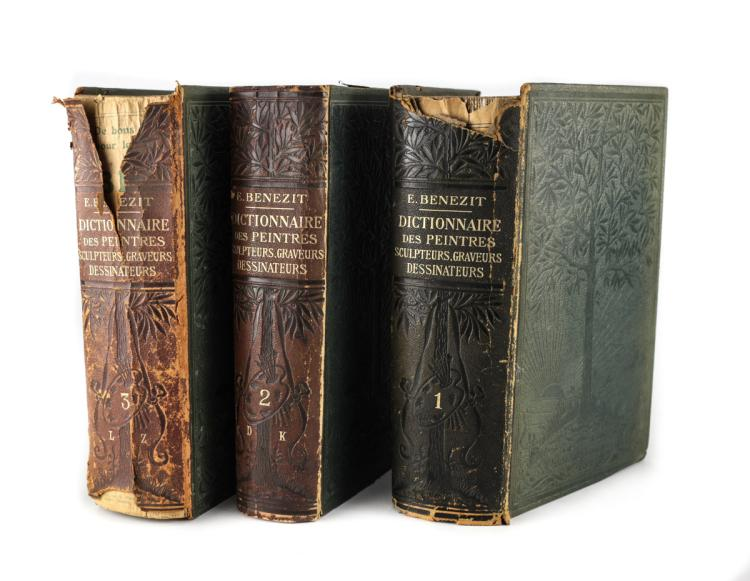 Benezit, Emmanuel Dictonnaire Critique 1st Ed 1911