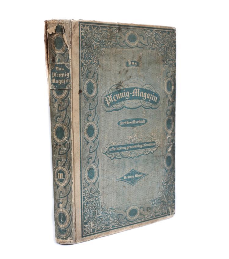 Das Pfennig-Magazin Der Gesellschaft Nr. 92 - 143 1835
