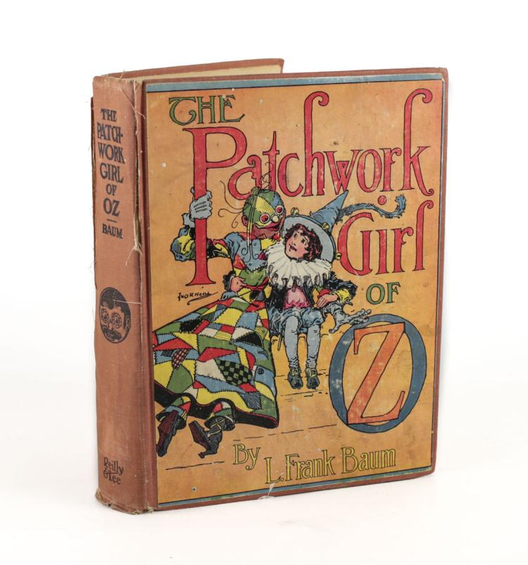 L. Frank Baum The Patchwork Girl of Oz 1935