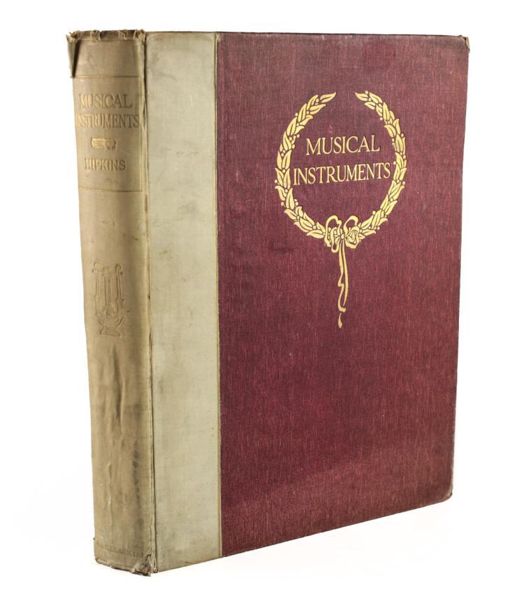 Hipkins, A.J. Musical Instruments Historic 1921