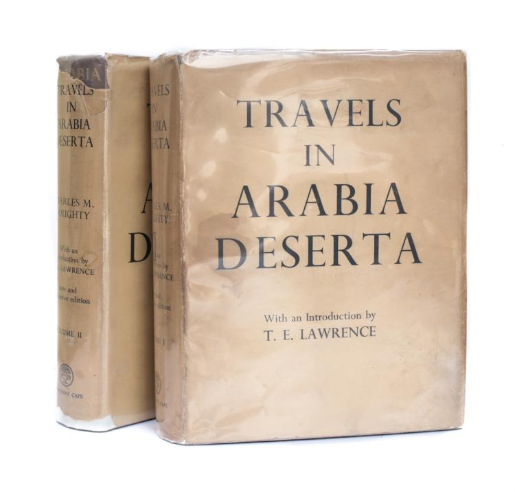 Doughty, Charles Travels in Arabia Desterta Vol 1 & 2