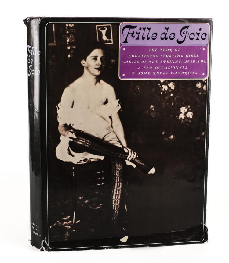 Fille de Joie; The Book of Courtesans 1st Ed w DJ 1967