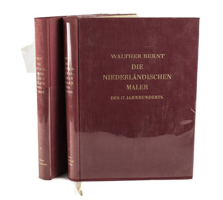 Walther, Bernt Die Niedelandischen Maler des 17 Vol 1 &2