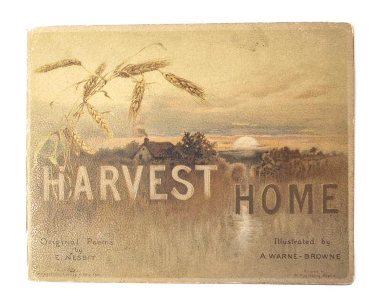 Nesbit, E Harvest; Warne Browne, A Home Original Poems