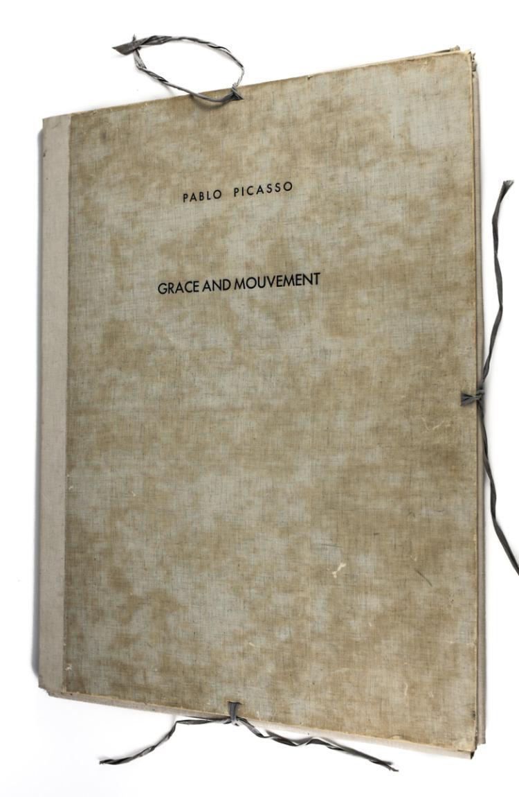 Pablo Picasso Grace and Mouvement Portfolio 1943