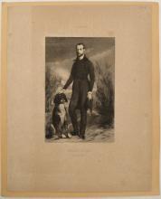 NANTEUIL, Célestin. After Louis Boulanger Petrus Borel. Salon de 1839. 1839