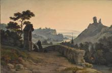 VIEW OF THE ISER VALLEY IN BOHEMIA.