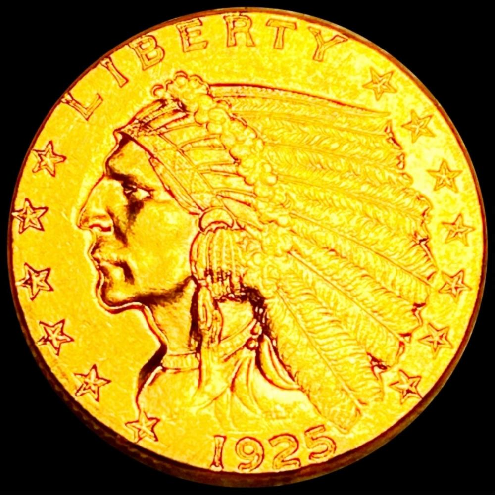 1925-D $2.50 Gold Quarter Eagle UNCIRCULATED