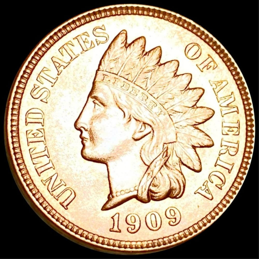 1909 Indian Head Penny UNC RED