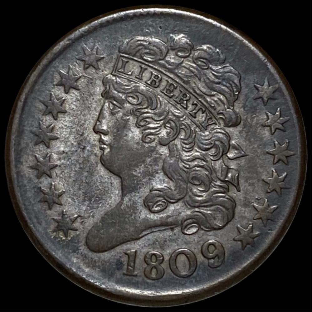 1809 Classic Head Half Cent UNCIRCULATED