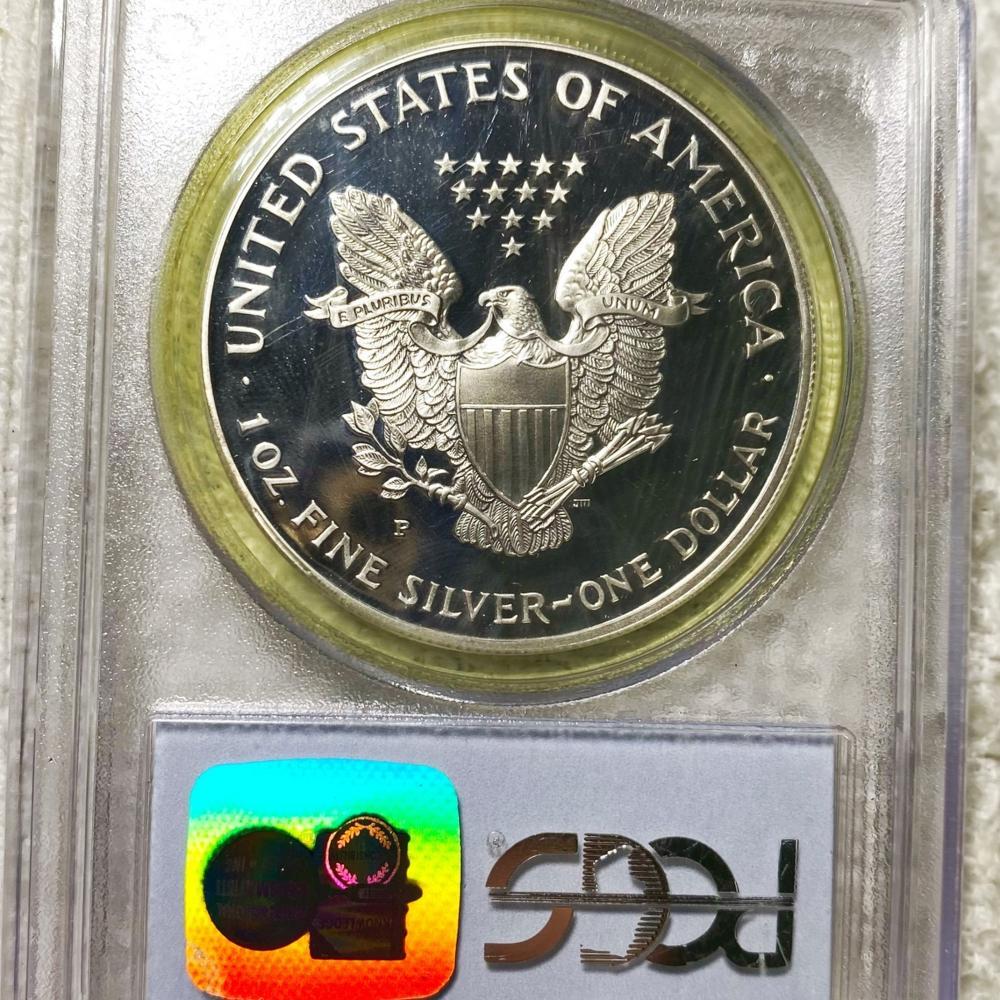 1998 Silver Eagle PCGS - PR 69 DCAM