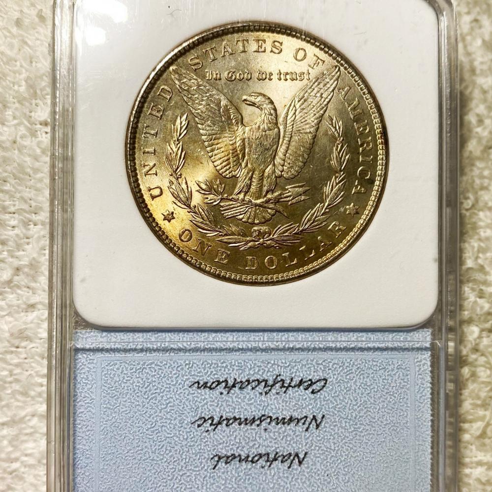 1886 Morgan Silver Dollar NNC - MS66