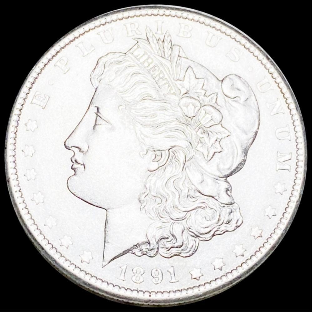 1891-S Morgan Silver Dollar UNCIRCULATED