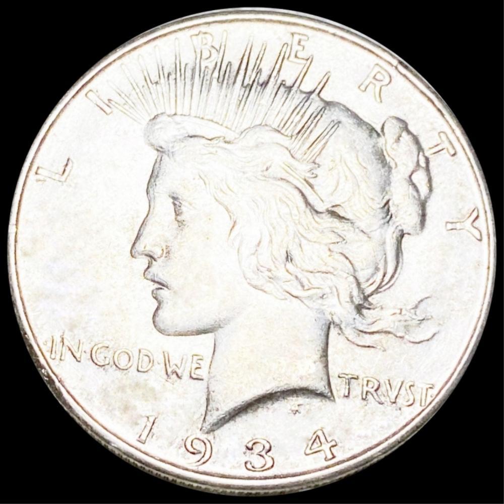 1934-D Silver Peace Dollar UNCIRCULATED