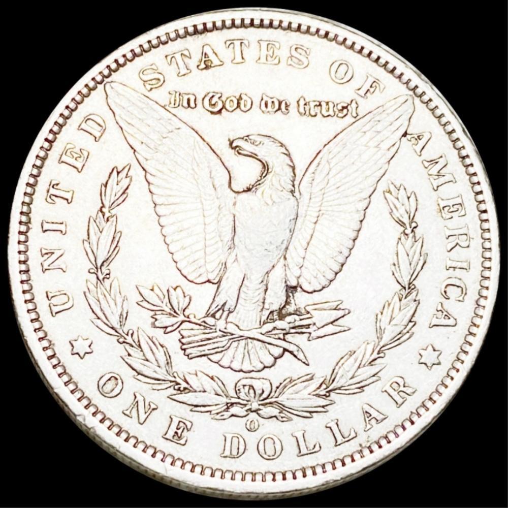 1896-O Morgan Silver Dollar ABOUT UNC