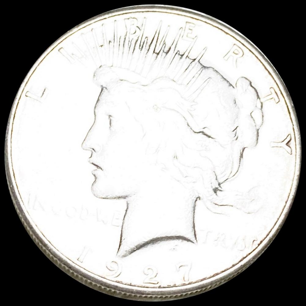 1927-S Silver Peace Dollar LIGHTLY CIRCULATED