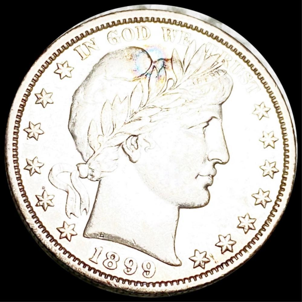 1899-O Barber Half Dollar NEARLY UNC
