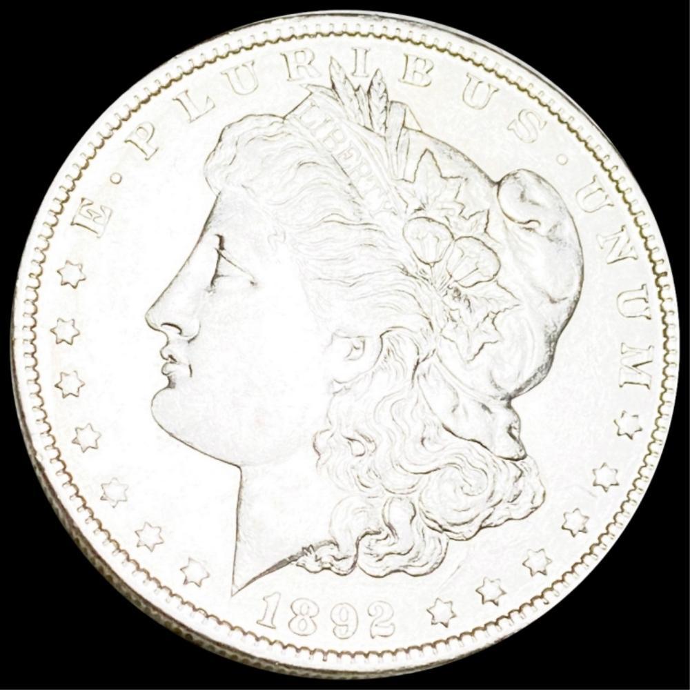 1892-O Morgan Silver Dollar UNCIRCULATED