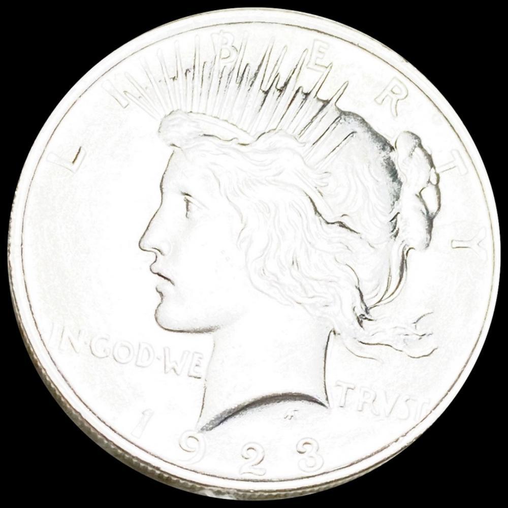 1923 Silver Peace Dollar UNCIRCULATED