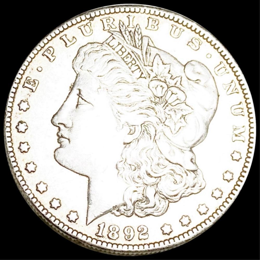 1892-O Morgan Silver Dollar LIGHTLY CIRCULATED