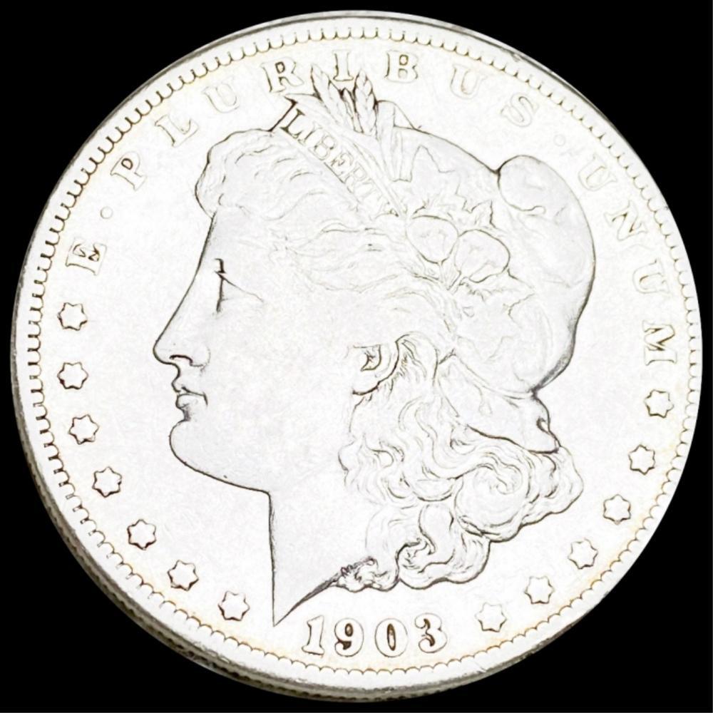 1903-S Morgan Silver Dollar XF
