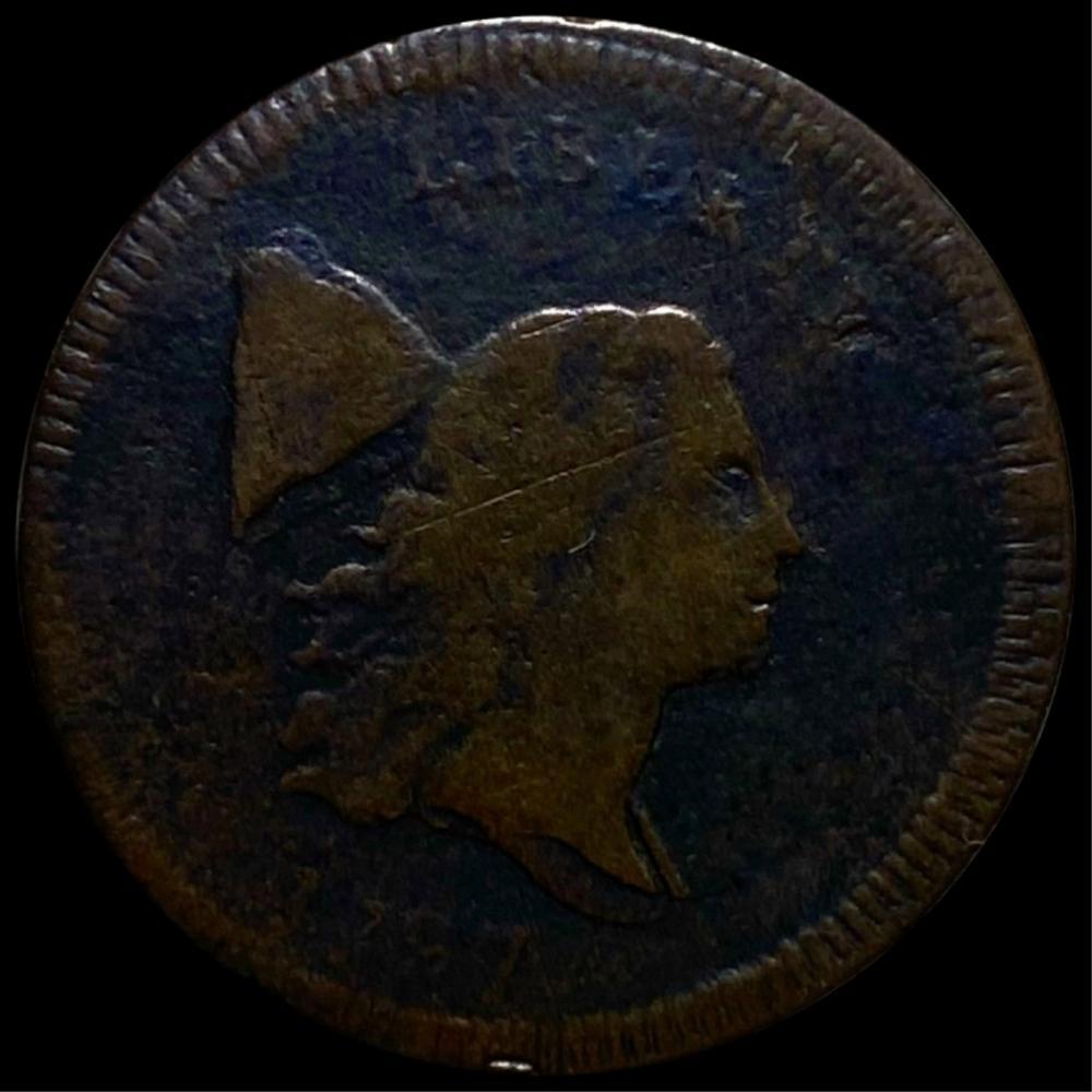 1797 Liberty Cap Half Cent LIGHT CIRC