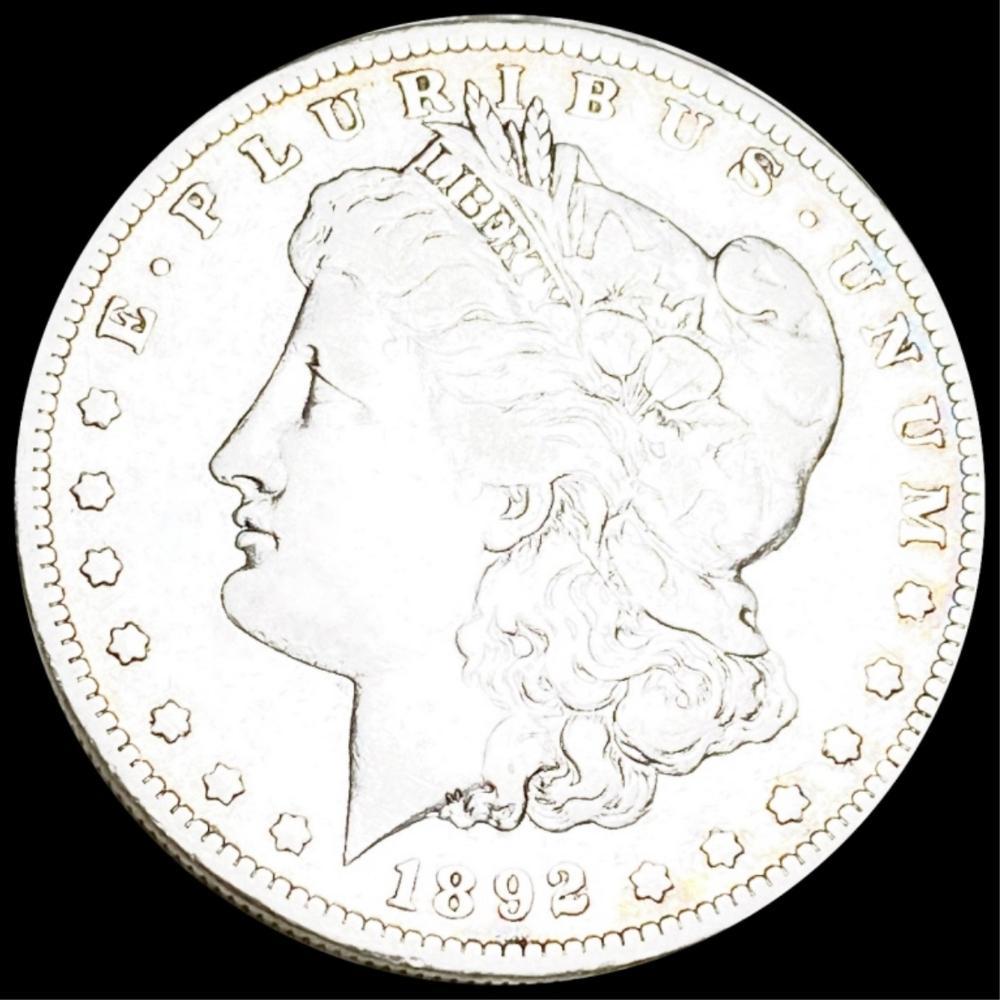 1892-S Morgan Silver Dollar LIGHT CIRC