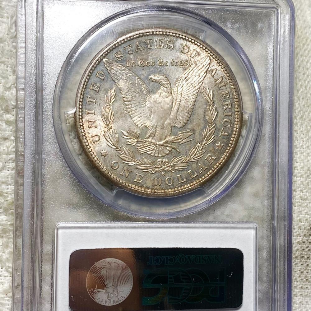 1881-S Morgan Silver Dollar PCGS - MS65