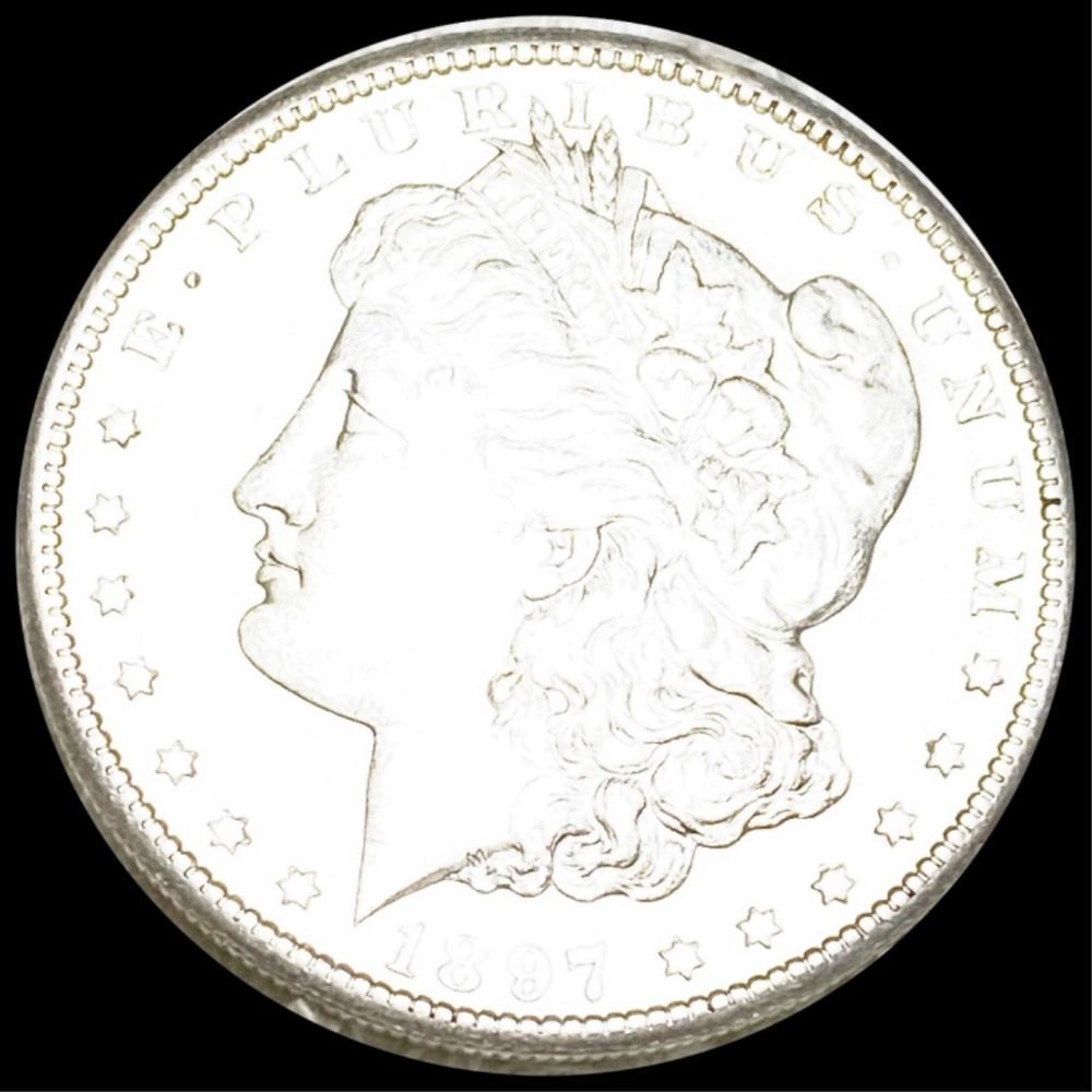1897-S Morgan Silver Dollar UNCIRCULATED